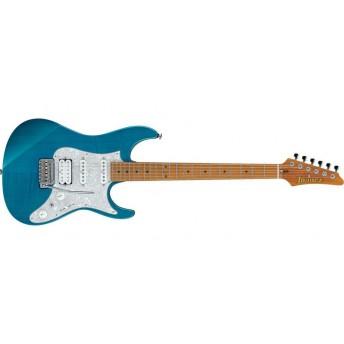 Ibanez AZ2204F TAB Prestige Electric Guitar Transparent Aqua Blue
