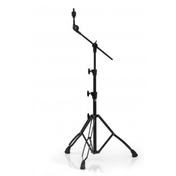 MAPEX - DOUBLE BRACED MEDIUM WEIGHT 2-TIER BOOM w/ RATCHET TILTER - BLACK PLATED