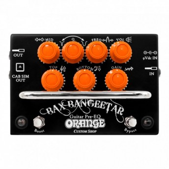 Orange Bax Bangeetar Pre-EQ Pedal