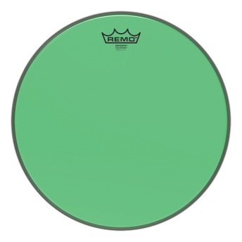 "REMO – EMPEROR COLORTONE DRUM HEADS - GREEN 14"""