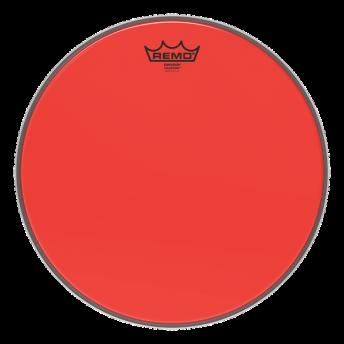 "Remo BE-0310-CT-RD 10"" Colortone Emperor Red Drum Head Skin"