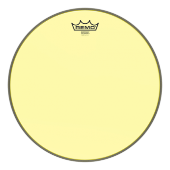"Remo BE-0314-CT-YE 14"" Colortone Emperor Yellow Drum Head Skin"