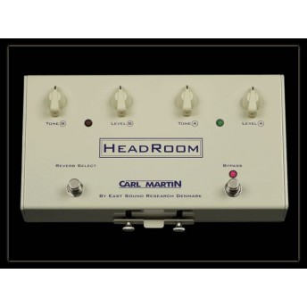 Carl Martin Headroom Spring Reverb Guitar Pedal
