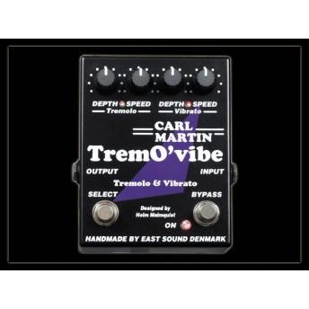 Carl Martin Trem O vibe TremO'vibe Tremolo and Vibrato Guitar Effects Pedal