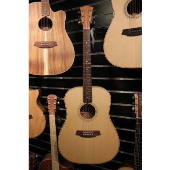 Cole Clark CCFL2E-SB Deadnought Fat Lady 2 Series Electric Acoustic Guitar