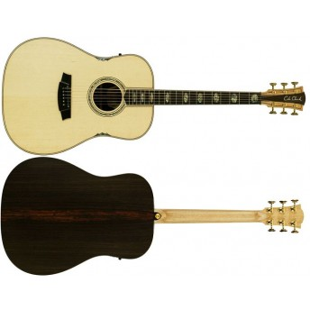 Cole Clark CCFL3E-SR Deadnought Fat Lady 3 Series Electric Acoustic Guitar