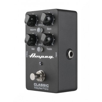 Ampeg Classic Analogue Bass Preamp Pedal