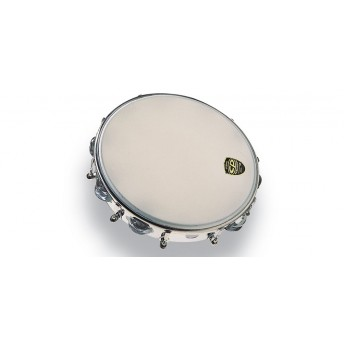 "LP CP392 CP By LP 10"" Tambourine Tunable Metal Double Row"
