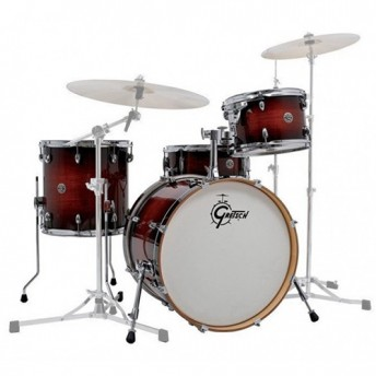"Gretsch Catalina Club 20"" Classic 4 Piece Drum Kit Shell Set - Gloss Antique Burst"