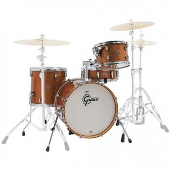 """Gretsch Catalina Club Jazz 4 Piece Drum Kit Shell Set 18"""" - Bronze Sparkle"""