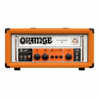 Orange Custom Shop 50 Valve Guitar Amplifier Head