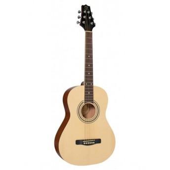 Samick 3/4 Size Solid Top Folk Guitar NS Acoustic Guitar