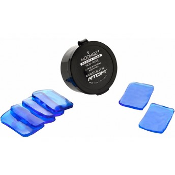 MOONGEL – BB1654 DAMPER PADS 6-PIECE – BLUE