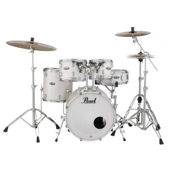 "Pearl Decade Maple DMP 22"" Fusion Plus Drum Kit H/ware White SatinPearl"