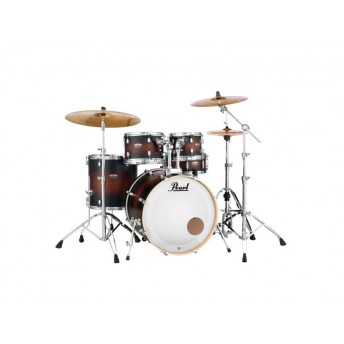 "Pearl Decade Maple DMP 22"" Fusion Plus Drum Kit w Hardware Brown Burst"