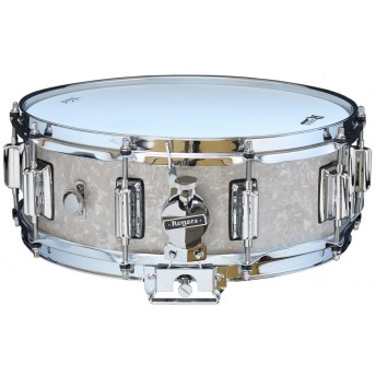 Rogers Dyna-Sonic Beavertail Snare Drum Model No. 36-WMP White Marine Pearl