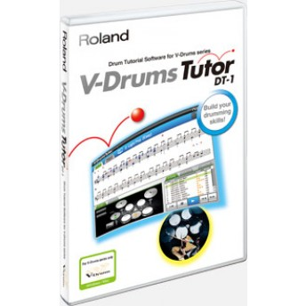 Roland DT-1 V-Drums Tutor Software App