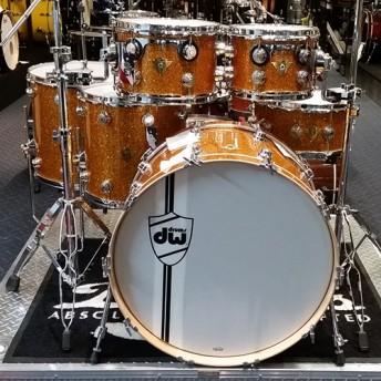 "DW Classics Series / Collectors 6 Piece Drum Kit 24"" Shell Set - Burnt Orange Glass"