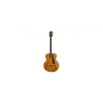 Epiphone Masterbilt De Luxe Classic Ac/El Bass F-Hole Vintage Natural