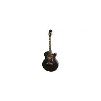 Epiphone EJ200SCE Acoustic Black