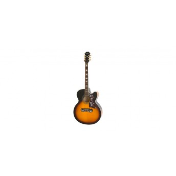 Epiphone EJ200SCE Acoustic Vintage Sunburst