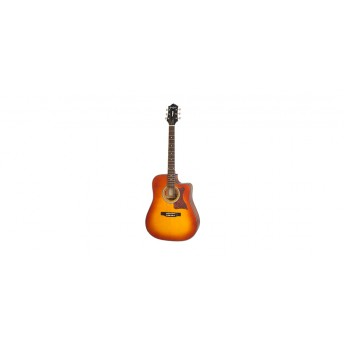 Epiphone Masterbilt DR-400MCE Acoustic/Electric Faded Cherry Sunburst