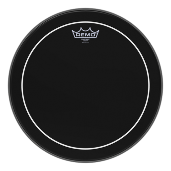 "Remo ES-0614-PS 14"" Pinstripe Ebony Drum Head Skin"