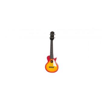 Epiphone Les Paul Acoustic/Electric Tenor Ukulele Heritage Cherry Sunburst