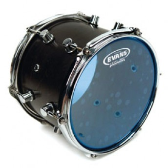 Evans TT08HB Hydraulic Blue Drum Head Skin 8""