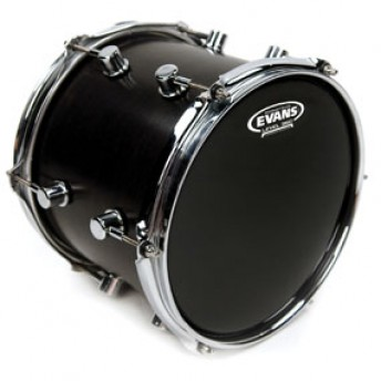 Evans TT14RBG Resonant Black Drum Head Skin 14""