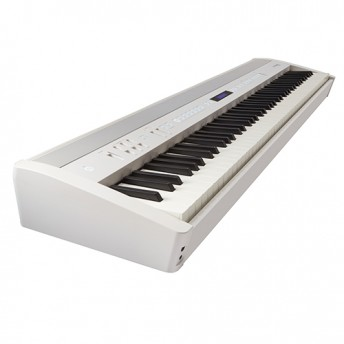 Roland FP-60 Digital Piano Kit White w/ Stand & Pedal Board