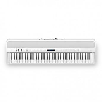Roland FP-90 Digital Piano Kit White w/ Stand & Pedal Board