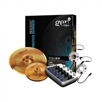 Zildjian EG16BS3DS Gen16 Buffed Bronze 13/18 DS Box Set Cymbal