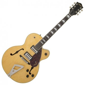Gretsch - G2420 Streamliner Hollow Body Guitar with Chromatic II Tailpiece - Village Amber