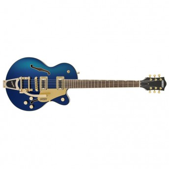 Gretsch - G5655TG Electromatic Center Block Jr. Single-Cut with Bigsby and Gold Hardware Azure Metallic