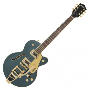 Gretsch - G5655TG Electromatic Center Block Jr. Single-Cut with Bigsby and Gold Hardware Cadillac Green