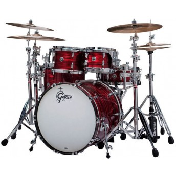 GRETSCH – GBE804RO – BROOKLYN SERIES – 5-PCE SHELL PACK – RED OYSTER