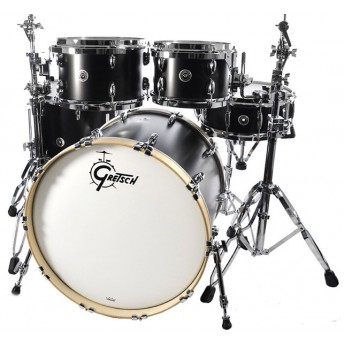 GRETSCH – GBE804SDE – BROOKLYN SERIES – 5-PCE SHELL PACK – SATIN DARK EBONY