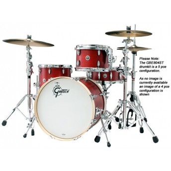 GRETSCH – GBE804ST – BROOKLYN SERIES – 5-PCE SHELL PACK – SATIN TABASCO