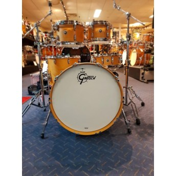 Gretsch Brooklyn 5 Piece Drum Shell Kit Satin Natural Finish