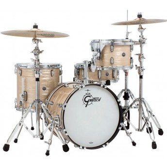 GRETSCH – GBJ683CO– BROOKLYN SERIES – 4-PCE SHELL PACK – CREAM OYSTER