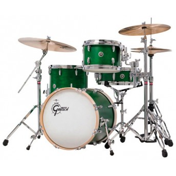GRETSCH – GBE823SEG – BROOKLYN SERIES – 4-PCE SHELL PACK – SATIN EMERALD GREEN