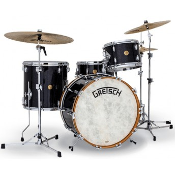 GRETSCH – GBKRC424VASP – BROADKASTER USA SERIES – 4-PCE SHELL PACK CLASSIC HERITAGE KIT – ANNIVERSARY SPARKLE NITRON