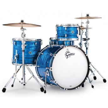 GRETSCH – GBR843BO – BROOKLYN SERIES – 4-PCE SHELL PACK – BLUE OYSTER