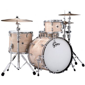 GRETSCH – GB-RC444-XX – BROOKLYN SERIES – 4-PCE SHELL PACK – CREAM OYSTER