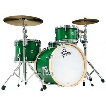 GRETSCH – GBR843SEG – BROOKLYN SERIES – 4-PCE SHELL PACK – SATIN EMERALD GREEN