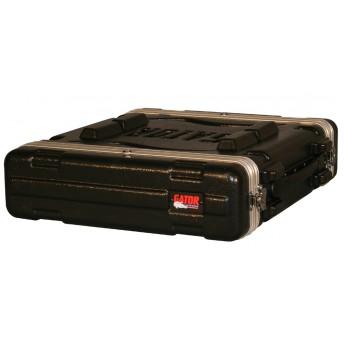 Gator GR-2L Molded PE Rack Case 2U