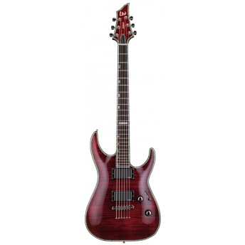 LTD LH-1001FMSTBC H Series H-1001FM Flamed Maple See-Thru Black Cherry Electric Guitar