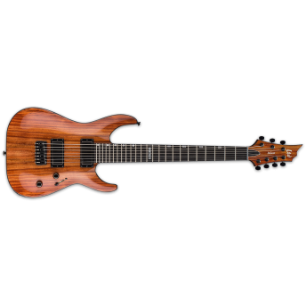LTD – H SERIES H-1007 – 7-STRING – BARITONE – KOA – NATURAL GLOSS – NATURAL