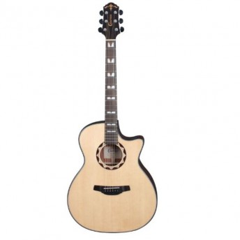 Crafter HG-520CE/SN Grand Auditorium Acoustic Guitar